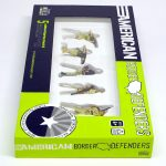 """closed box of """"American Border Defenders (Arizona Border Recon),"""" boxed set with five painted figures by Matt Ferranto"""