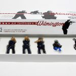 "open box of ""An Incident near Wilmington,"" boxed set with five painted figures and accessories by Matt Ferranto"