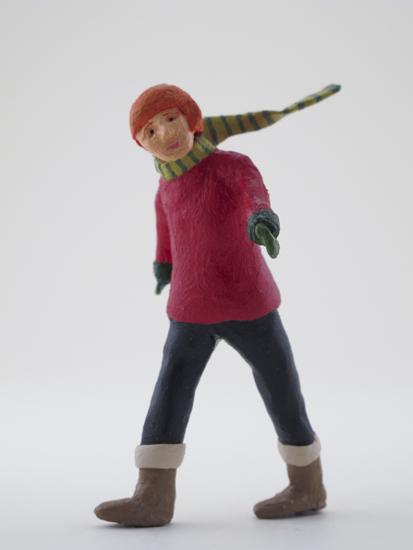 Margo McCafferty - painted miniature portrait figure by Matt Ferranto