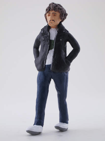Mark Gillespie - painted miniature portrait figure by Matt Ferranto
