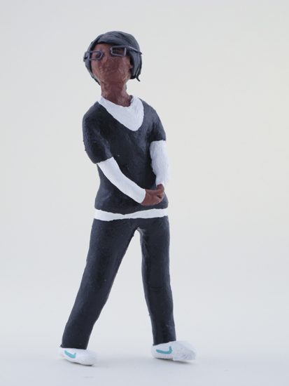Sadi Rebsch - painted miniature portrait figure by Matt Ferranto